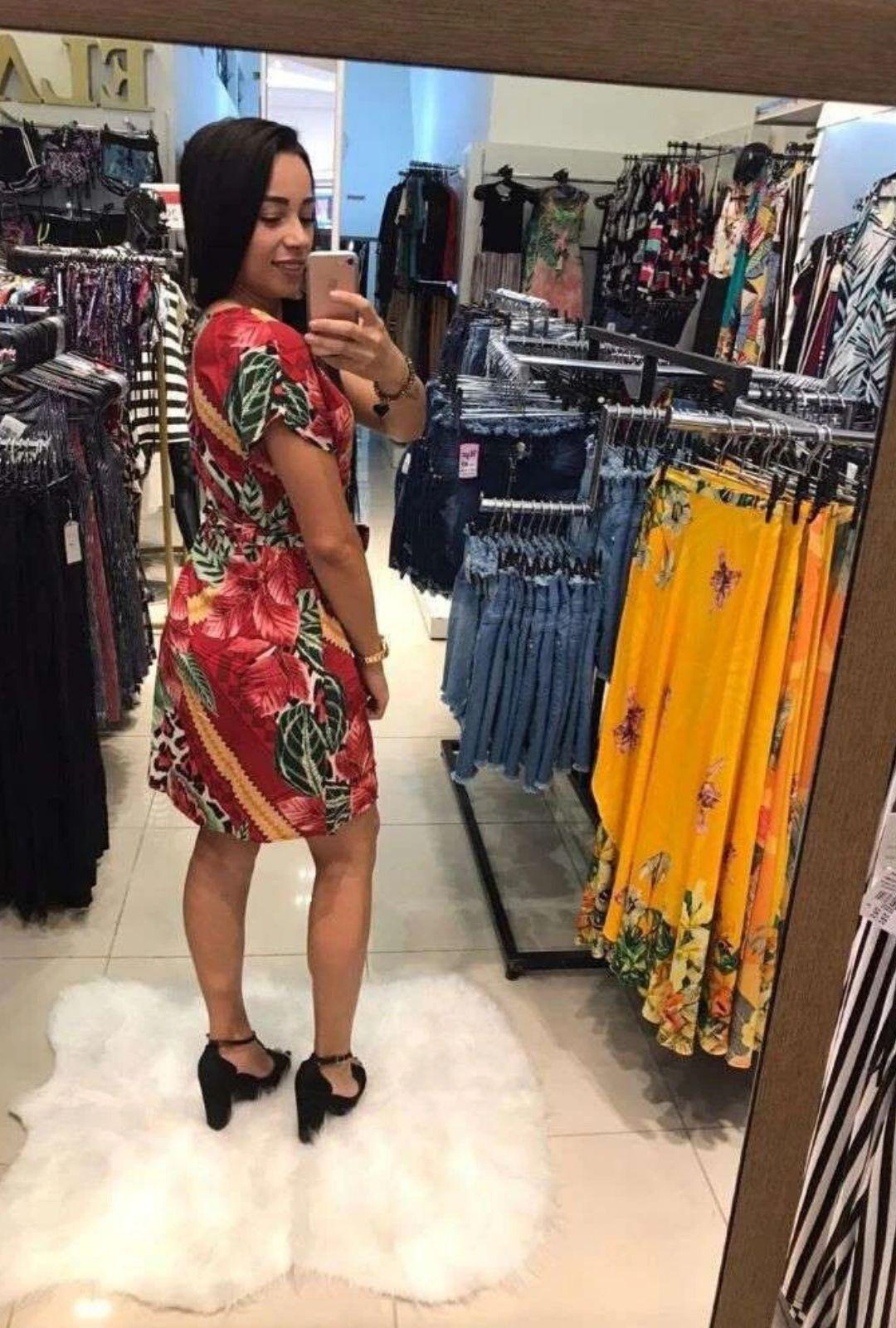 Vestido Animal Print  - ModaStore