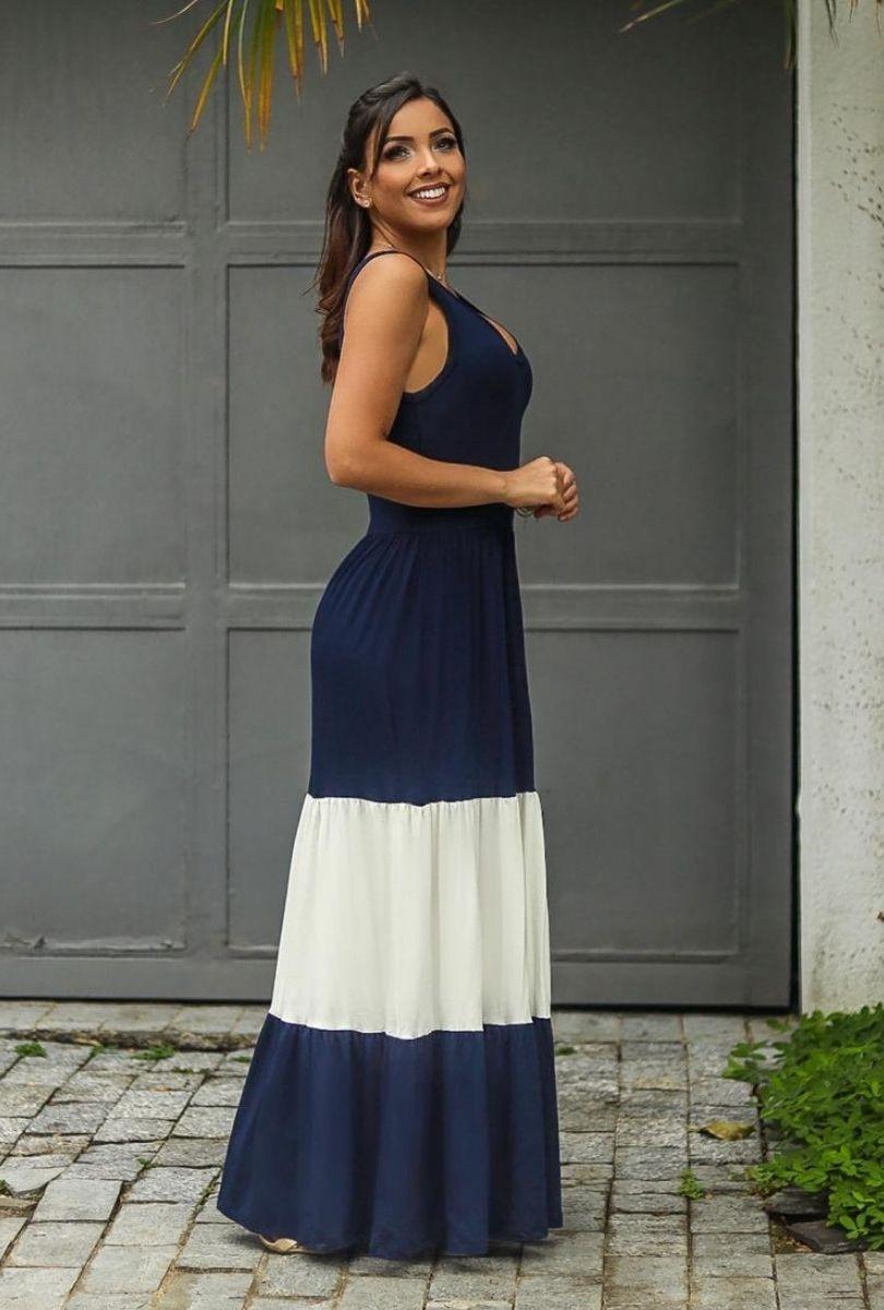 Vestido Feminino Longo 3 Marias  - ModaStore