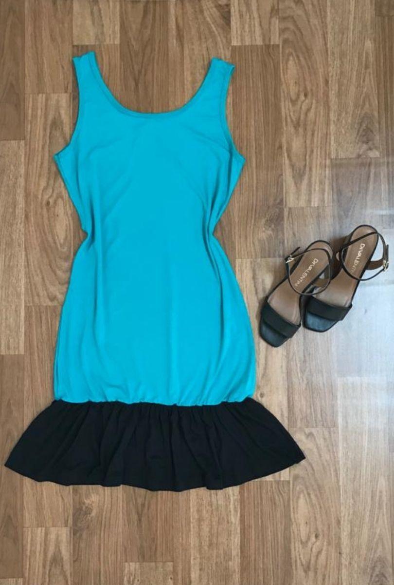 Vestido Feminino Regata Curto   - ModaStore