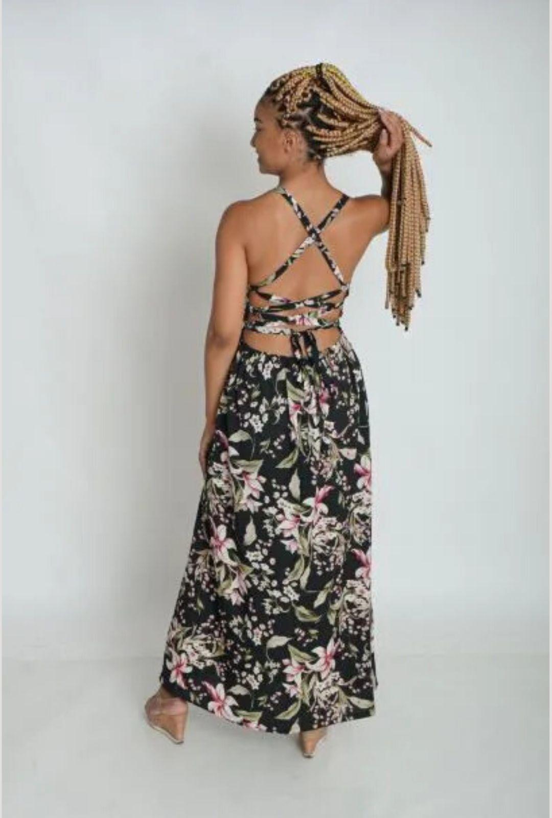 Vestido Longo Bela  - ModaStore