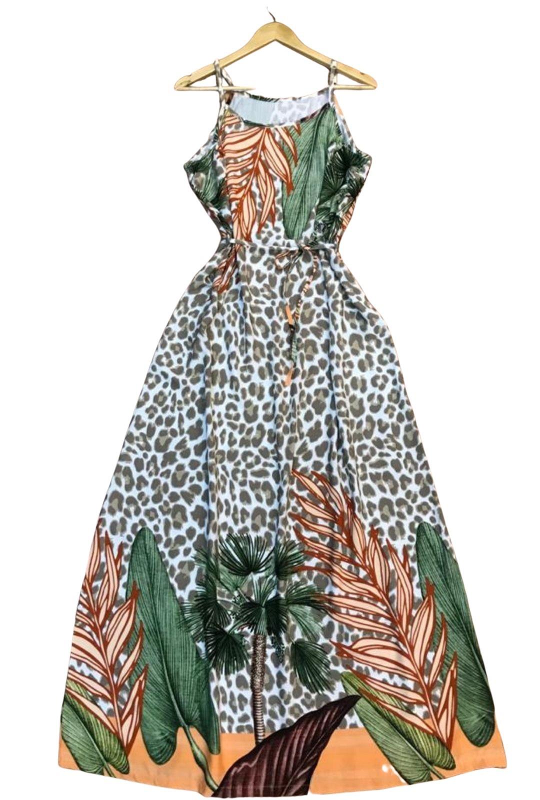 Vestido Longo Flora  - ModaStore