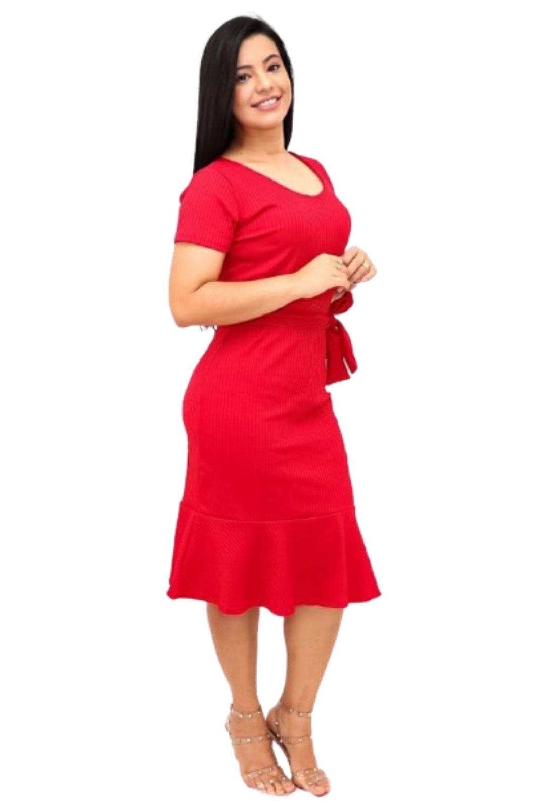 Vestido Midi Sereia  - ModaStore
