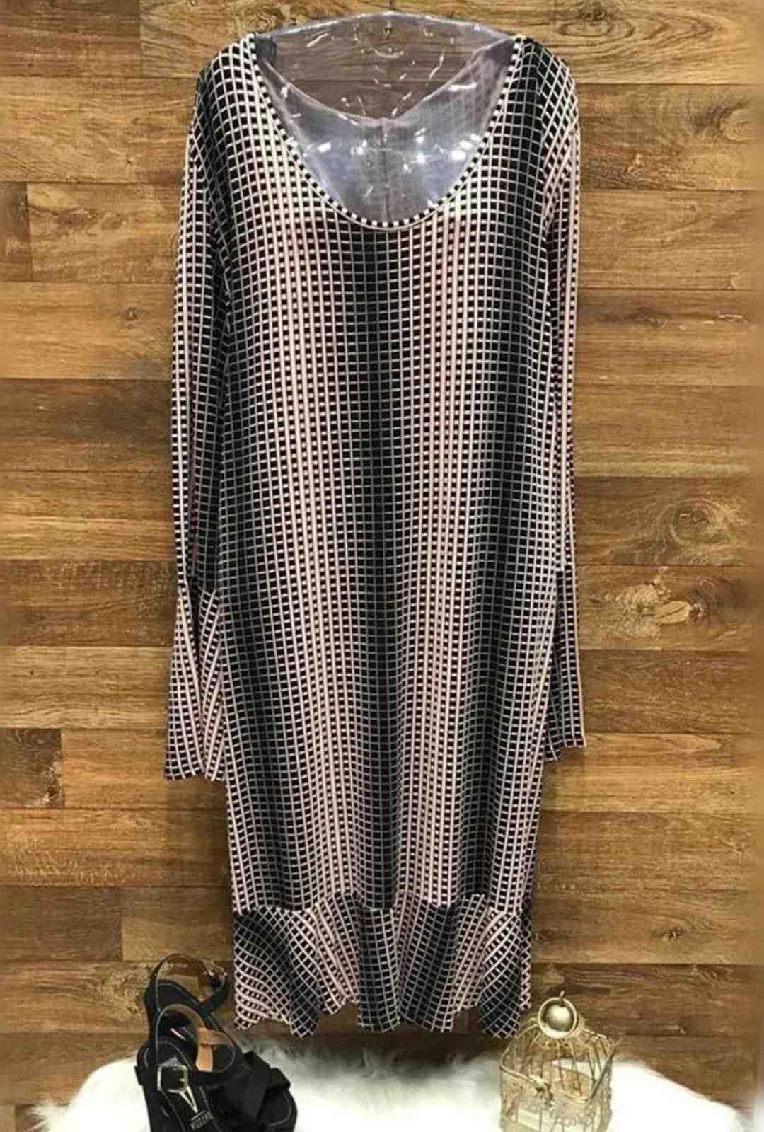 Vestido Feminino em Viscose Plus Size  - ModaStore