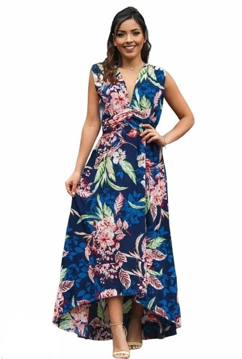 Vestido Mullet Estampado  - ModaStore | Moda Feminina