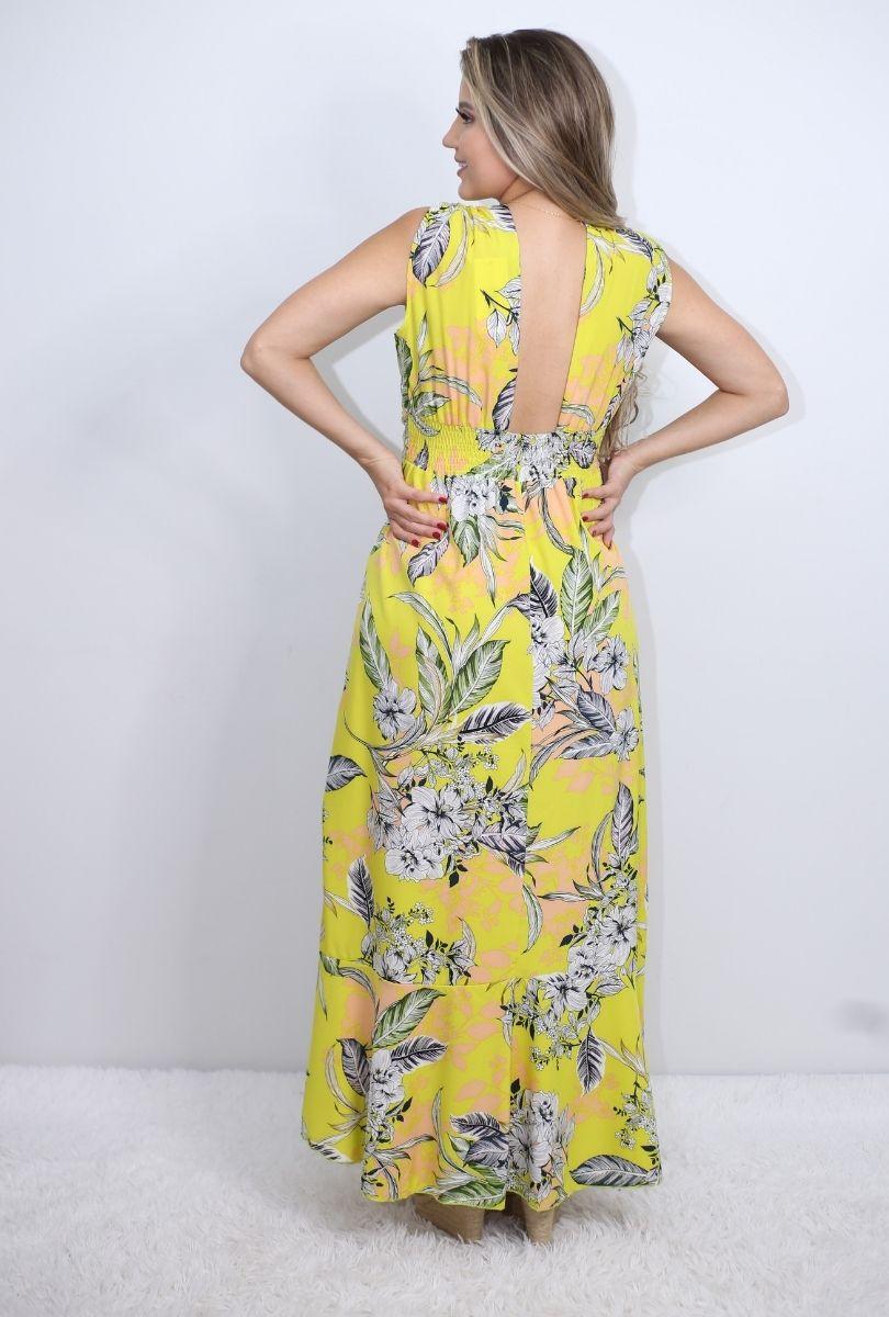Vestido Mullet Estampado  - ModaStore