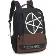 Mochila Notebook Sobrenatural Supernatural Símbolo Pentagram