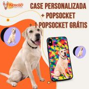 CASE PERSONALIZADA + POP SOCKET