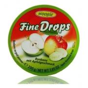 Bala de Maça Verde - Fine Drops Woogie 200g