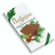 Belgian - Milk Hazelnut s/ açúcar 100g