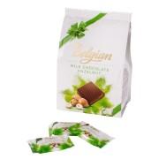 Belgian - Squares Milk  Hazelnut