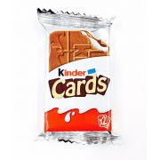 Biscoito Kinder Cards 25,6g