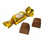 Bombons de Chocolate ao Leite com Recheio de Creme Praliné 10gr