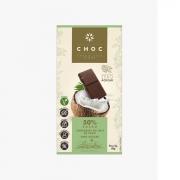 Chocolate de Origem ao Leite Coco 50% Cacau - Zero Açúcar 80g