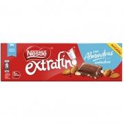 Chocolate Extra Fino ao Leite Amêndoas 300g