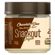 Doce Snackout Vegano Chocolate Duo 180g