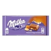 Milka Peanut Crispy Caramel 90gr
