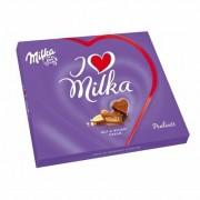 Milka Praline - Gift  I Love Hazelnut Cream 110gr