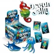 Ocean Jelly - Cartela com 6 animais Marinhos