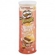 Pringles Roast Beef & Mustard 165g