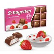 Schogetten Yoghurt-Strawberry 100gr