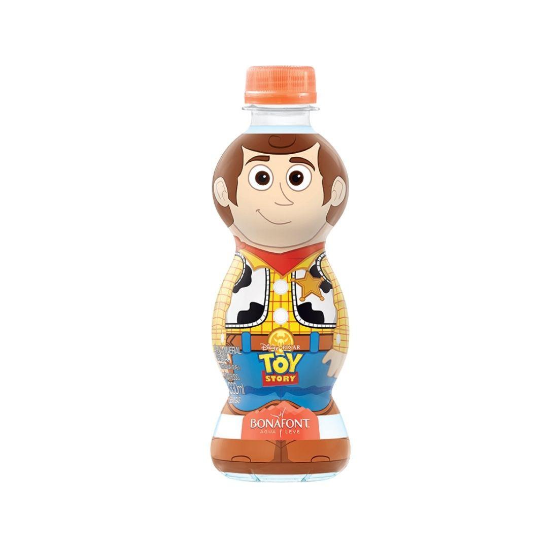 Água Bonafont Toy Story Xerife Woody 330ml