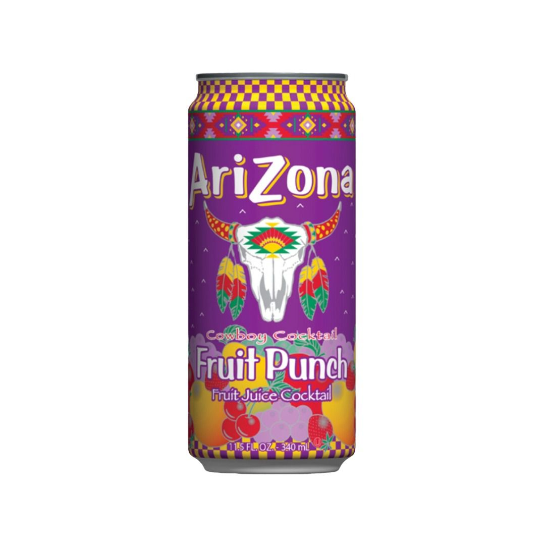 Arizona All Natural Fruit Punch  340 ml