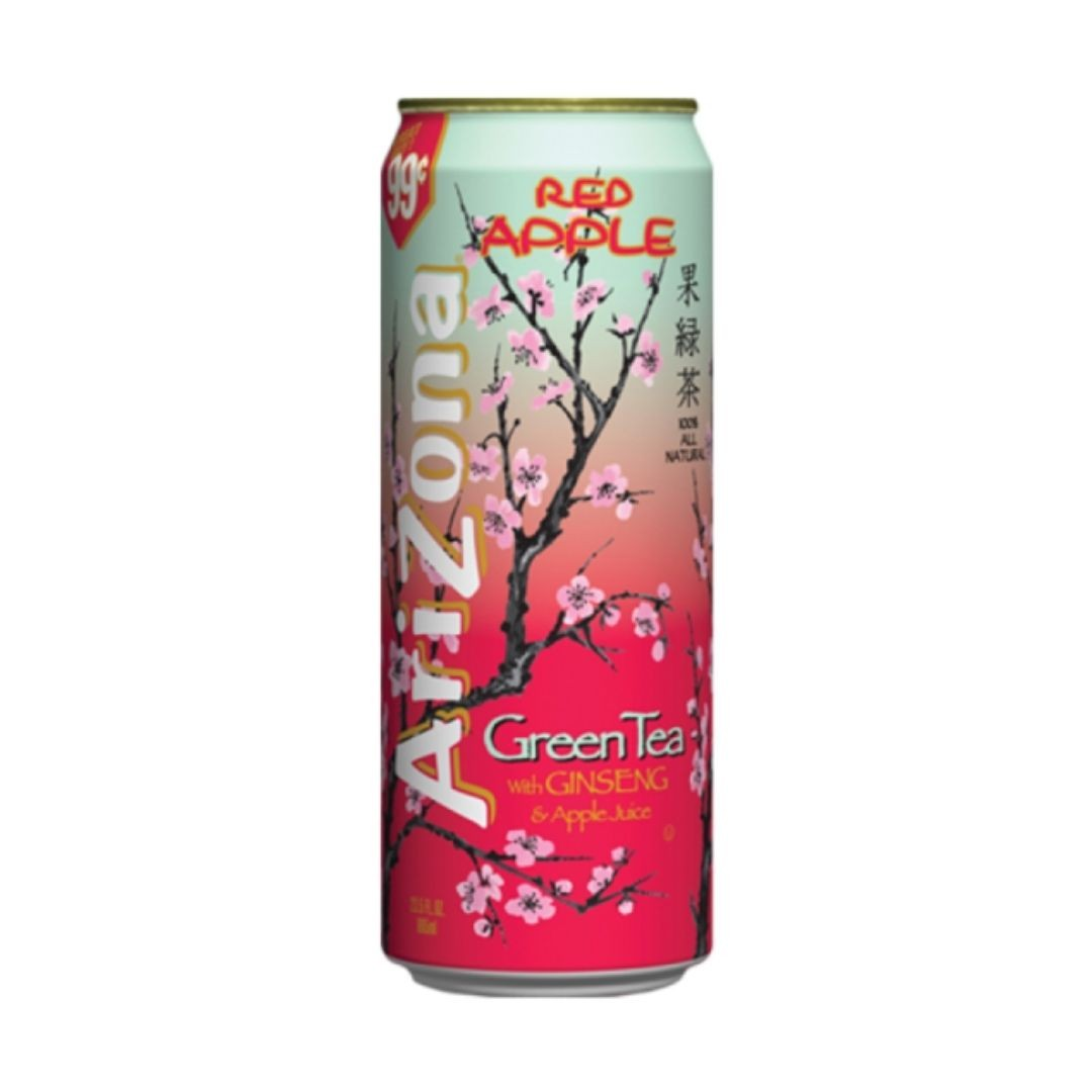 Arizona Green Tea with Ginseng and Apple Juice 680ml