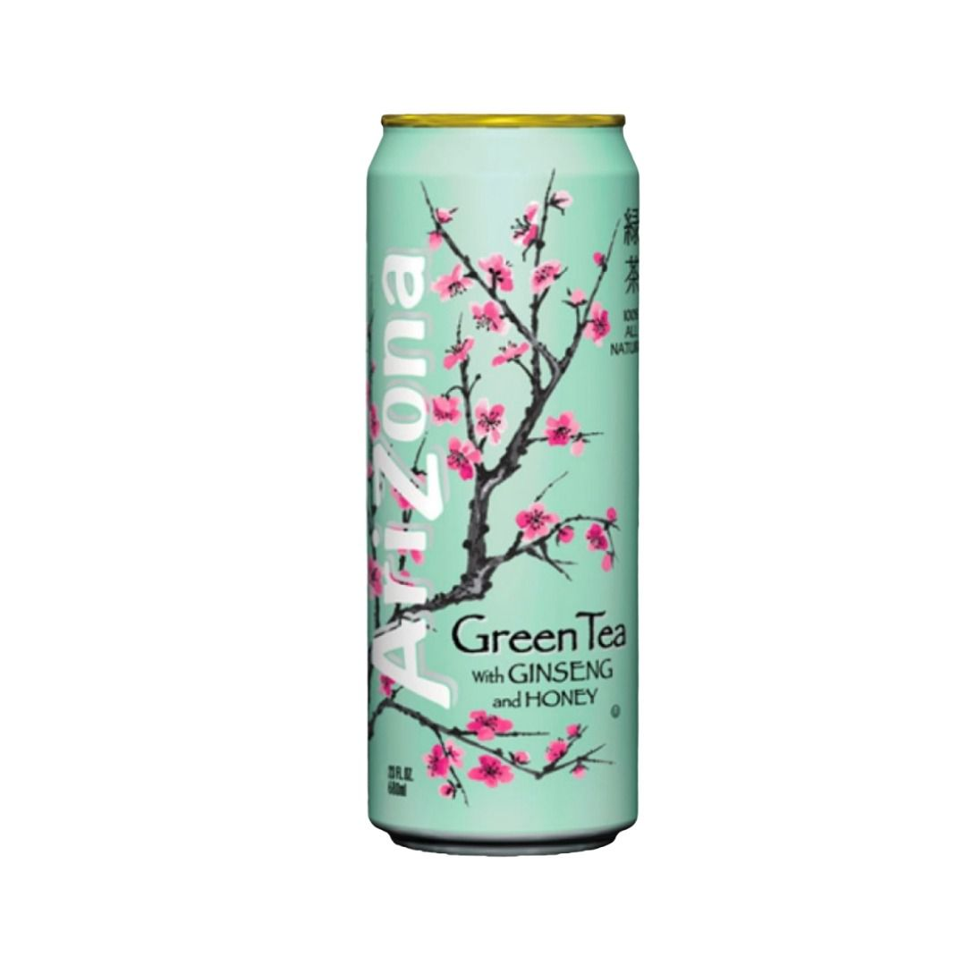 Arizona Green Tea With Ginseng And Honey 340ml