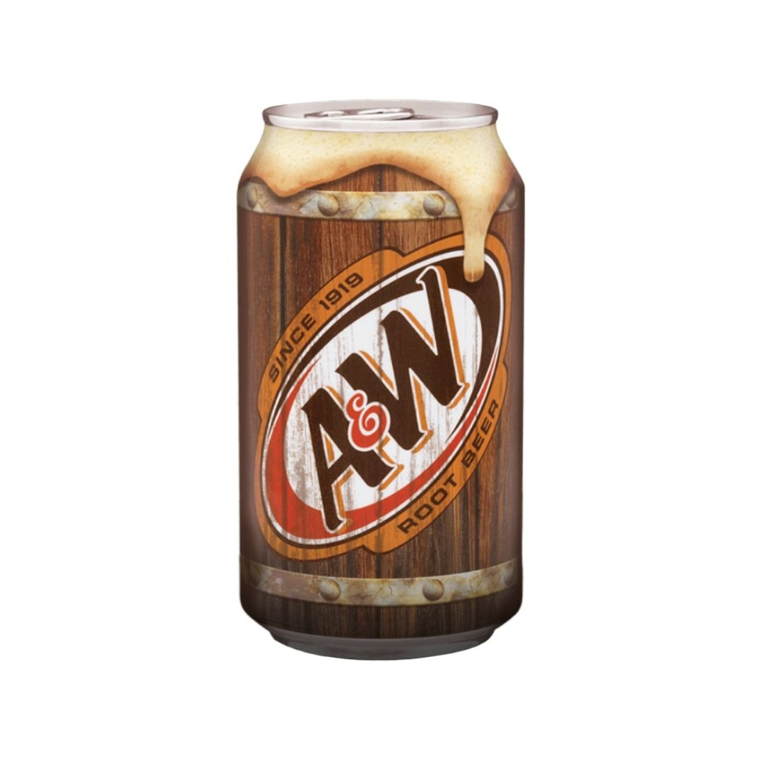 Refrigerante A&W Root Beer 355 ml