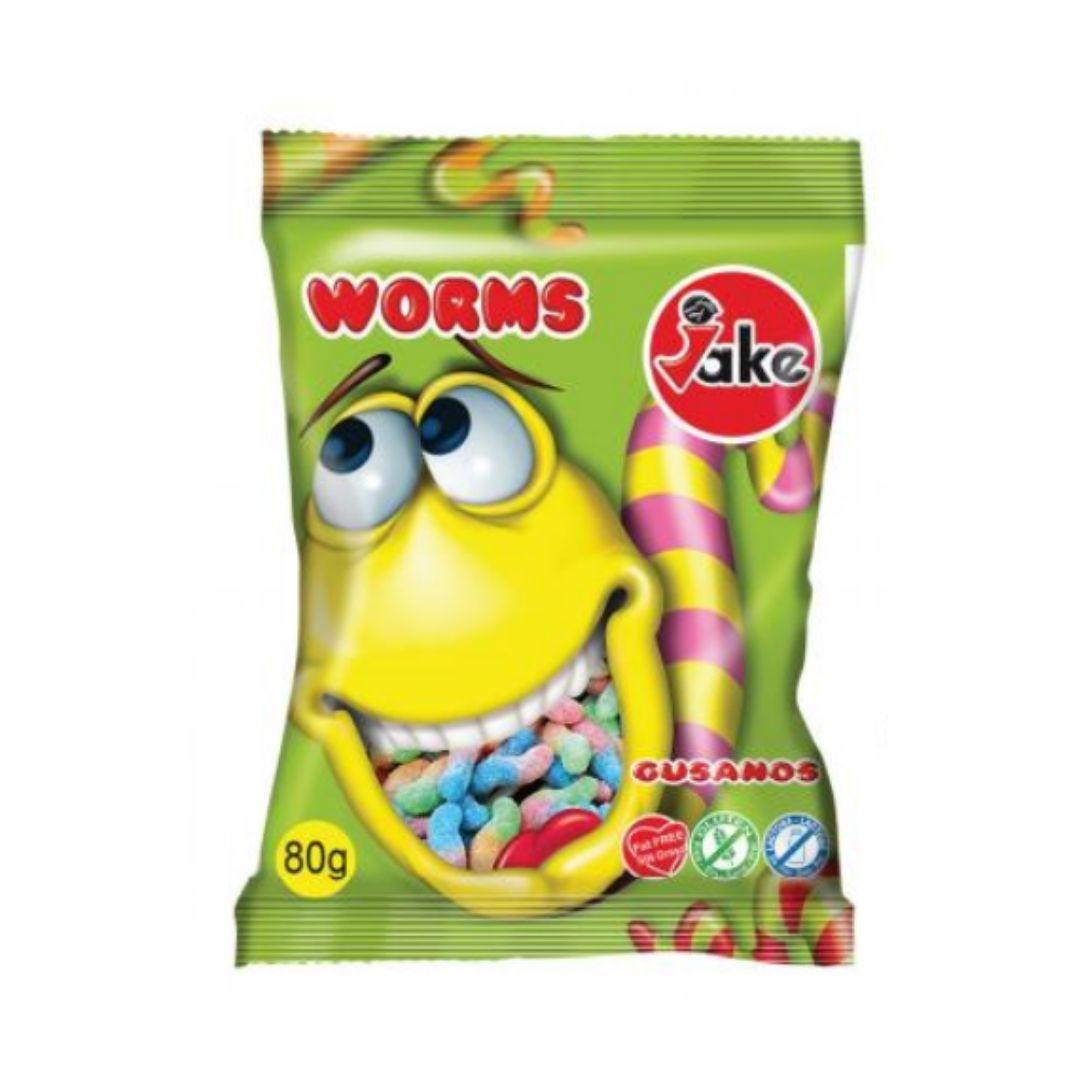 Bala Jake Sour Worms 80g