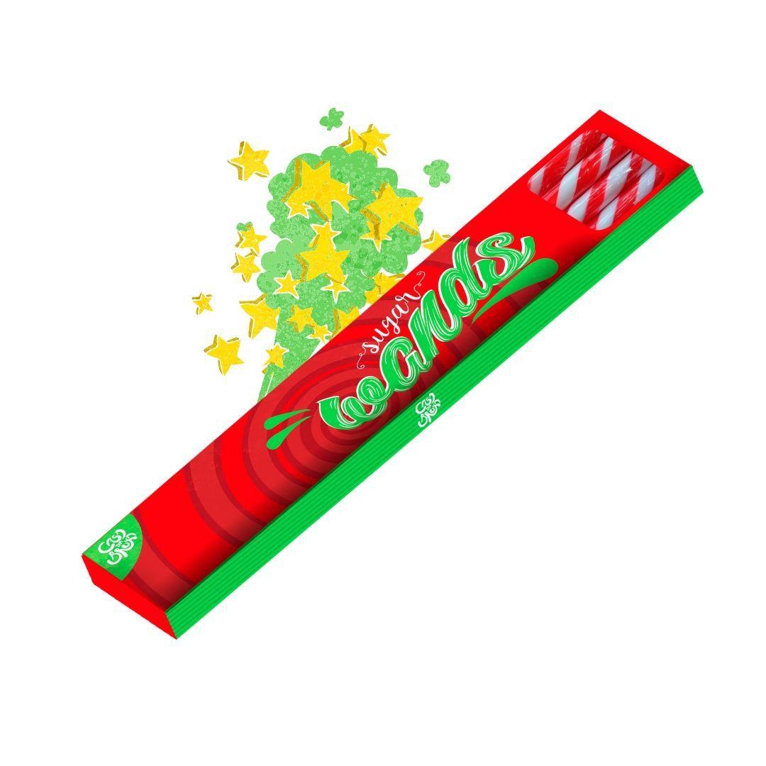 Bala - Sugar Wands Vermelha