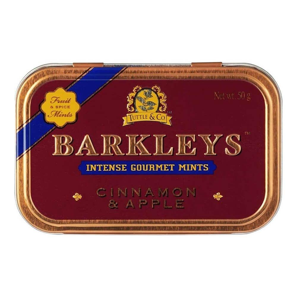 Barkleys - Gourmet Mints Cinnamon & Apple  50gr