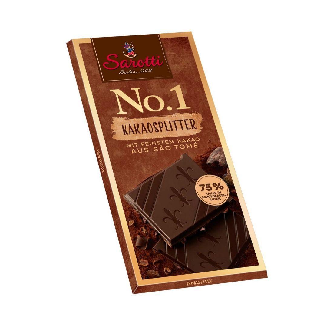 Chocolate 75% Cacau São Thomé 100g