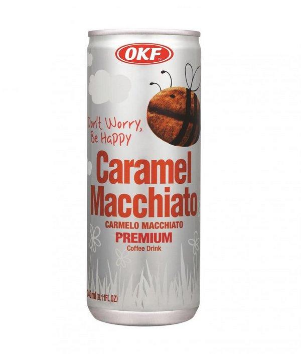 Bebida de Café - Caramel Macchiato 240ml OKF
