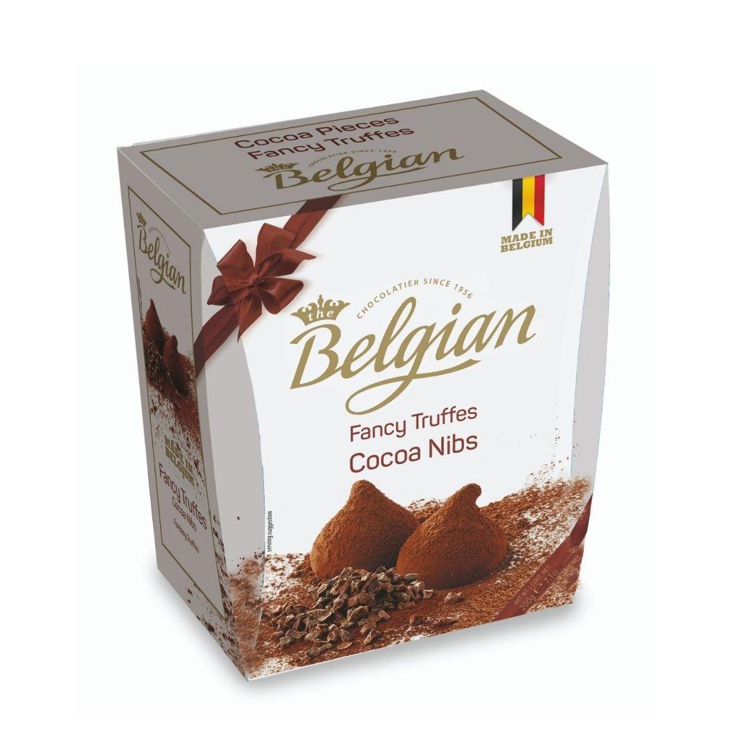 Belgian - Pralines  Truffles Cocoa Nibs - Trufas