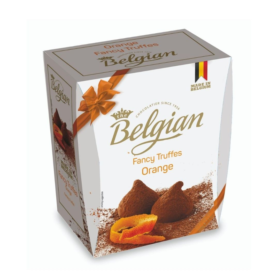 Belgian - Pralines  Truffles Orange