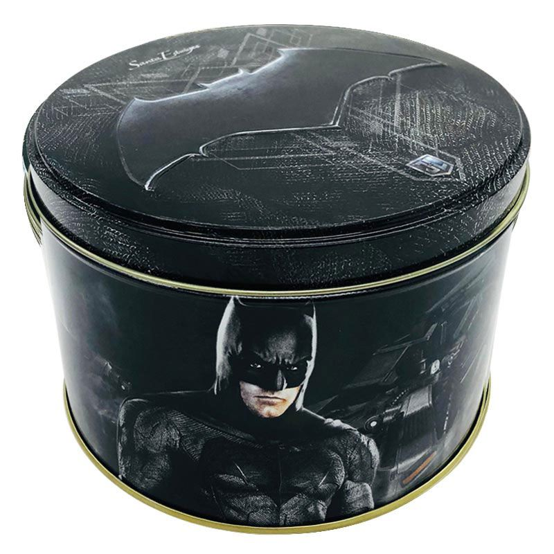 Biscoito de Manteiga com Gotas de Chocolate Butter Cookies Batman 200g