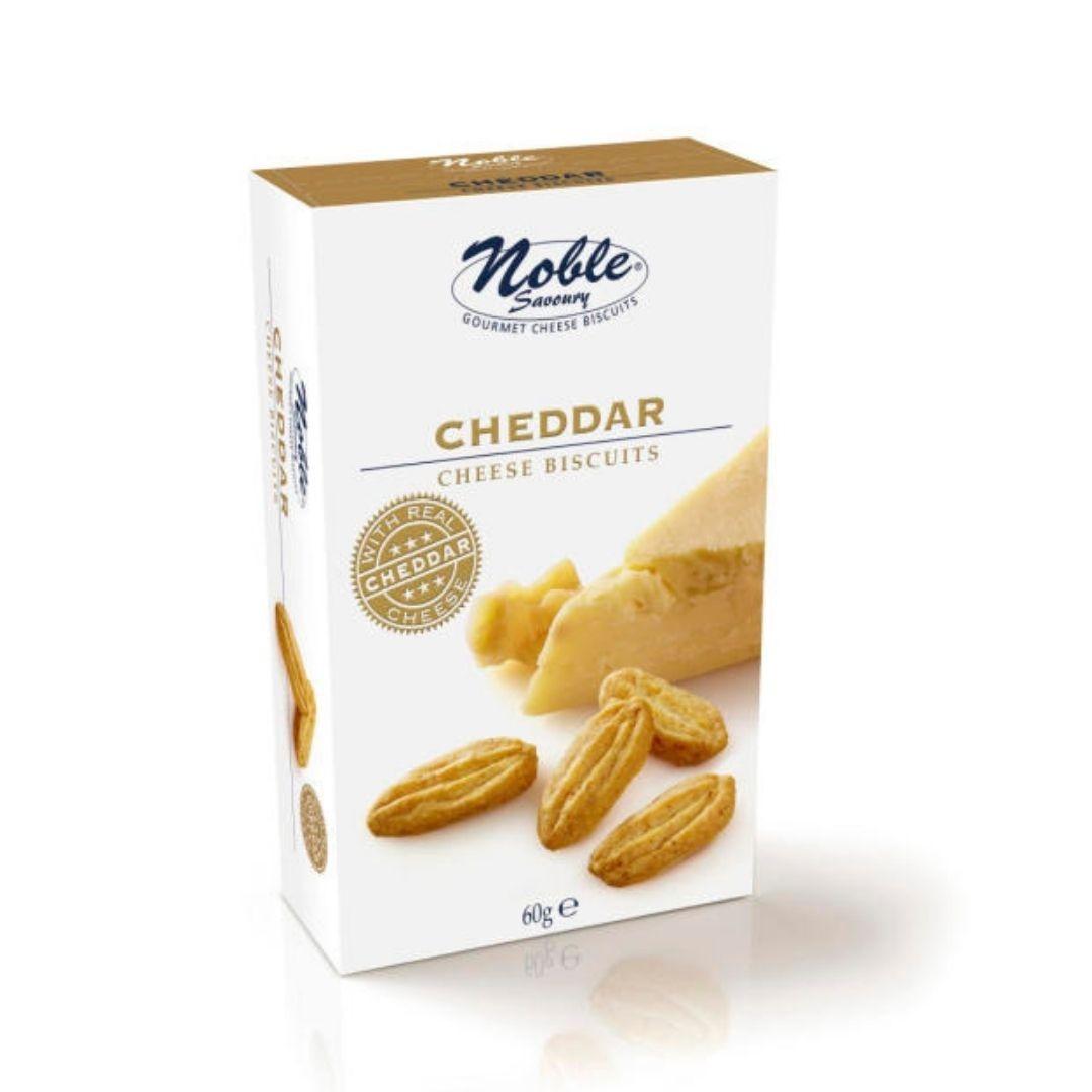 Biscoito de Queijo Cheddar Noble 60gr