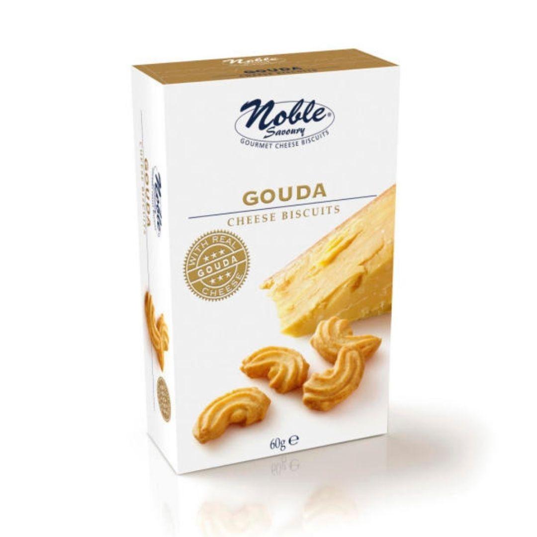 Biscoito de Queijo Gouda  Noble 60gr