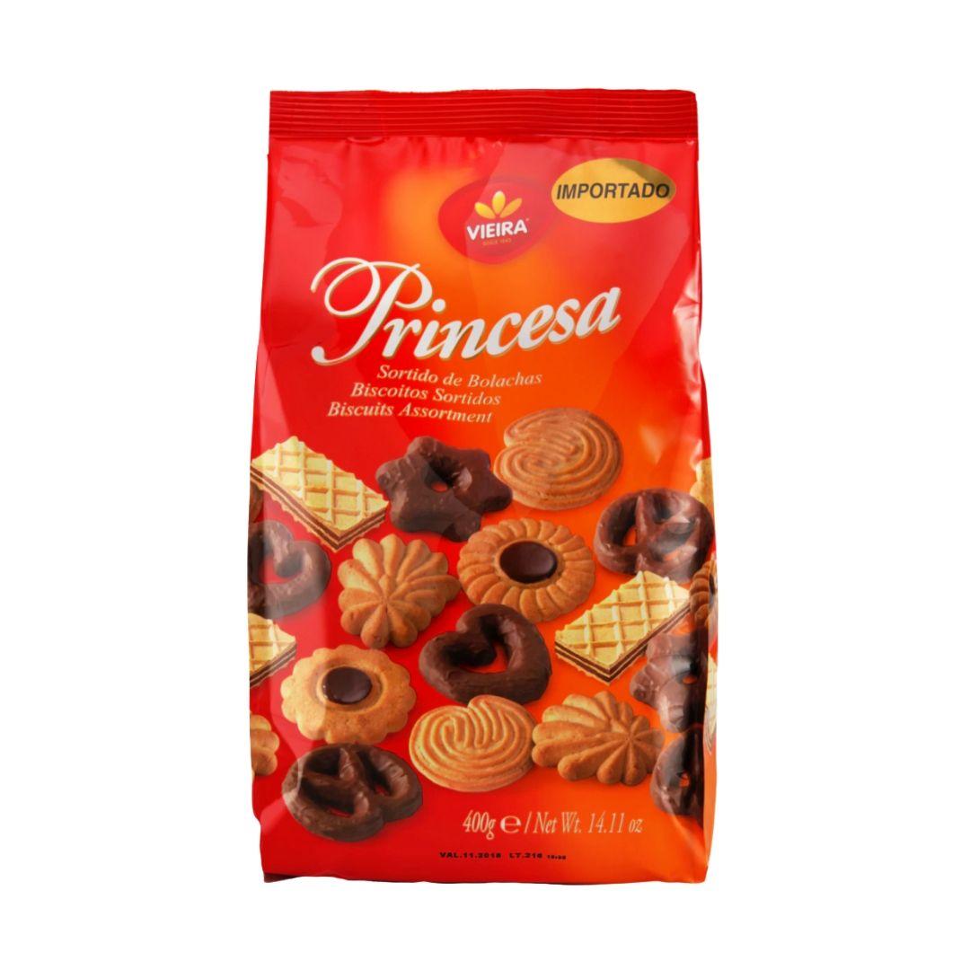 Biscoito Vieira Princesa Sortidos 400 gr