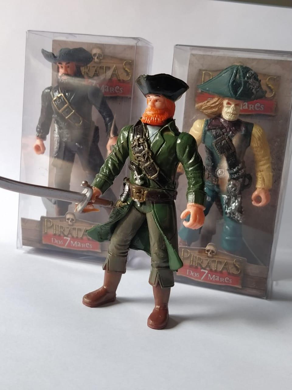 Boneco Piratas dos Sete Mares