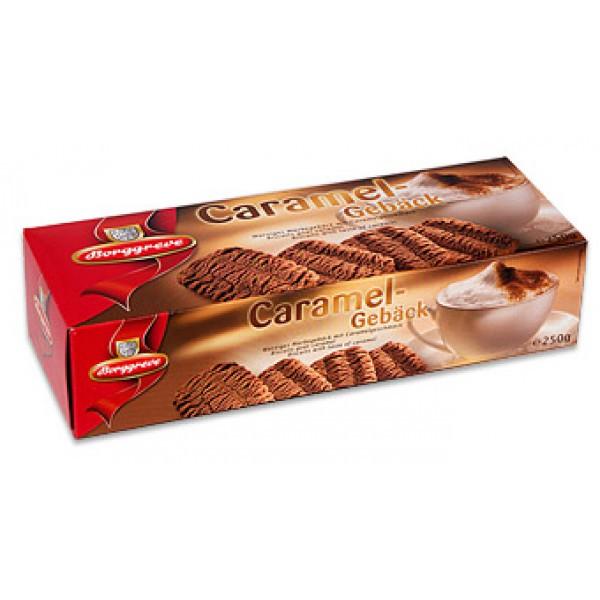 Borggreve - Biscoitos Caramelgebäck com Caramelo e Canela 250g