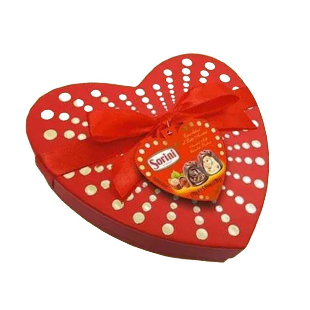 Caixa de Coração com Bombons 500g
