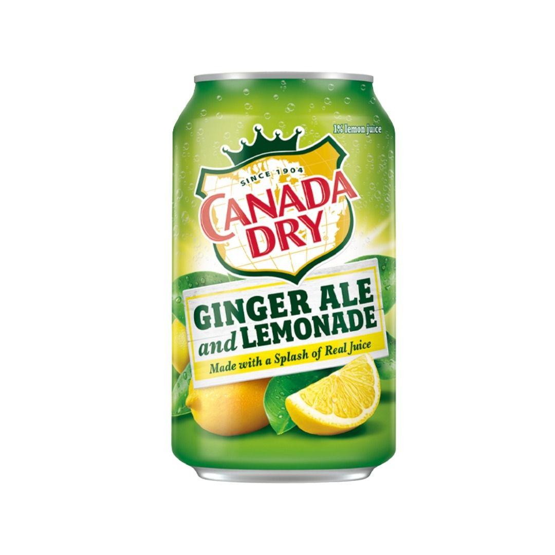 Canada Dry Ginger Ale Lemonade 355ml