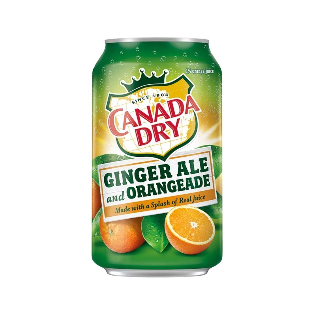 Canada Dry Orangeade 355ml