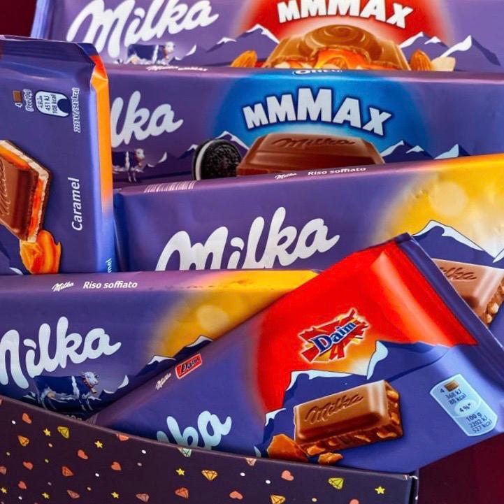 Cesta Milka Grande - Promoção