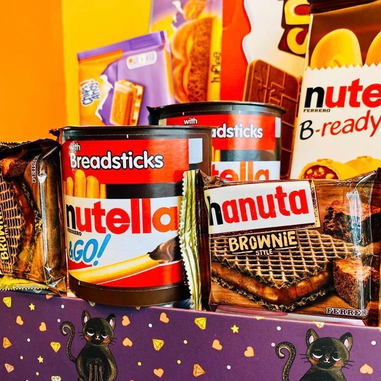 Cesta Paixão Eterna Nutella