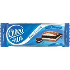 ChocoFun Cookie & Cream 300g
