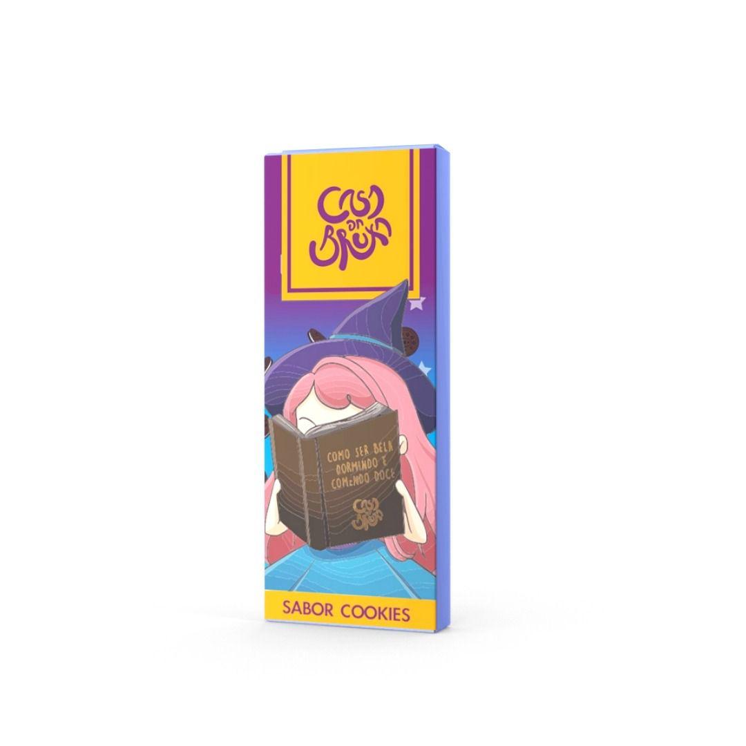 Chocolate ao Leite com Cookies Casa da Bruxa