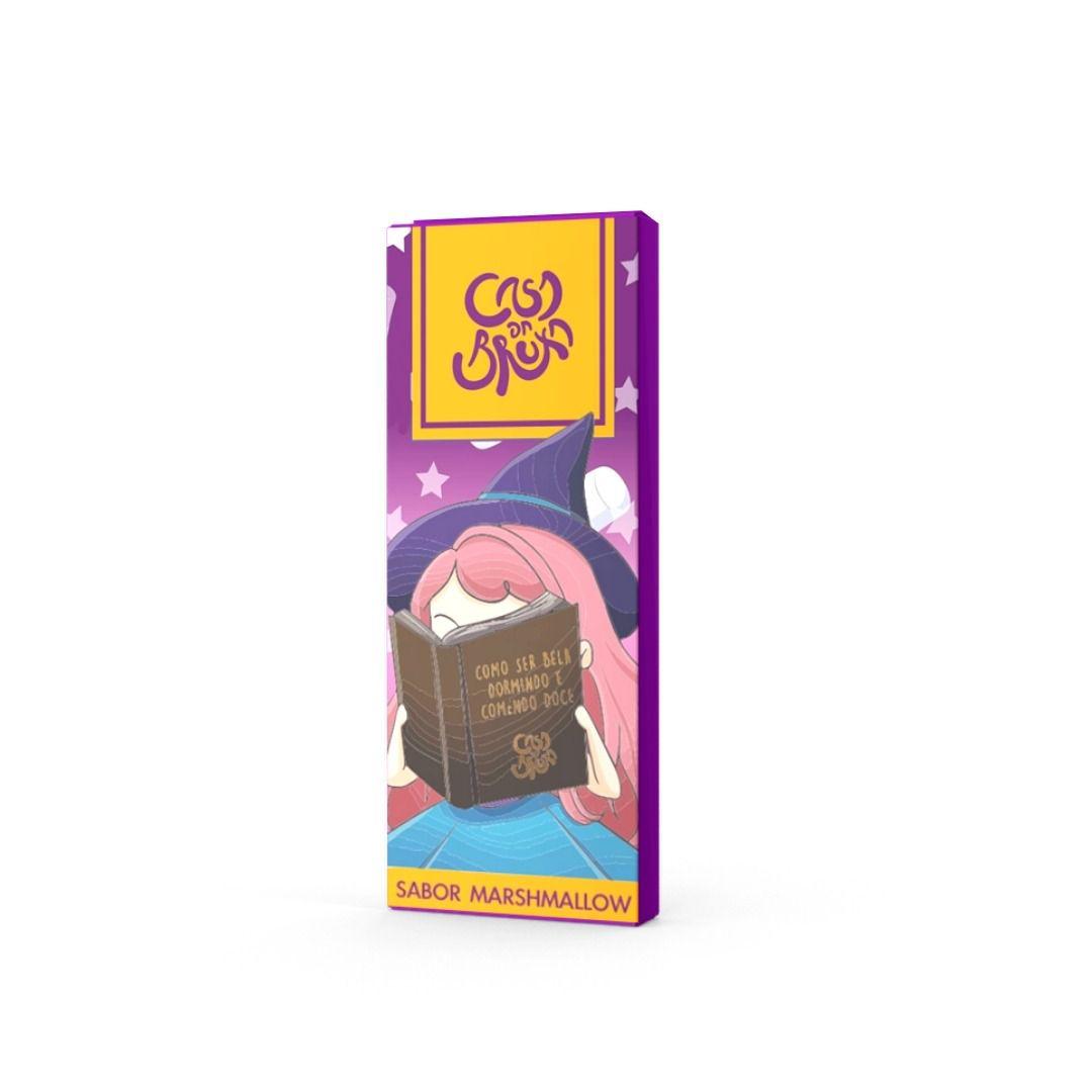 Chocolate ao Leite com MarshMallow Casa da Bruxa